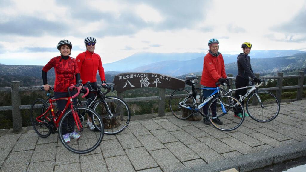 八幡平登山腳踏車行程