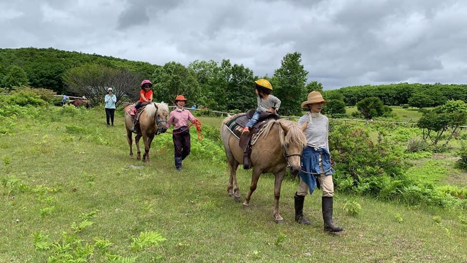 安比高原騎馬體驗